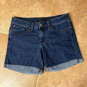 Prana Denim Shorts Size 4